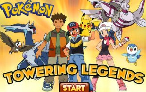 Y8 Pokemon: Towering Legends game